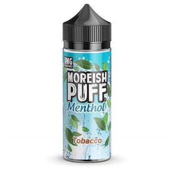 Moreish Puff Menthol Shortfill 50ml Tobacco