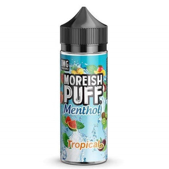 Moreish Puff Menthol Shortfill 50ml Tropical