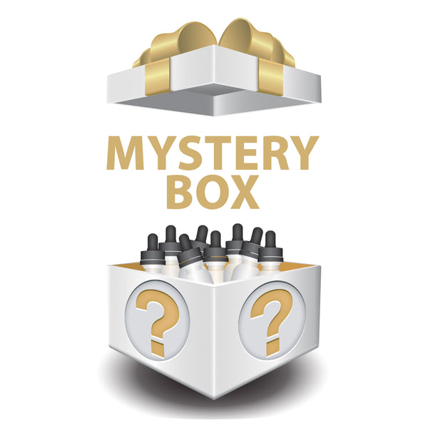 Mystery Box Including 400ml in ELiquids Non Menthol