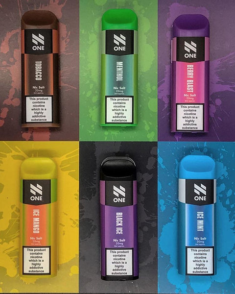 N One Nic Salt Disposable Pods