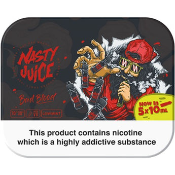 Nasty Juice TPD Multipack (5x10ml) Bad Blood
