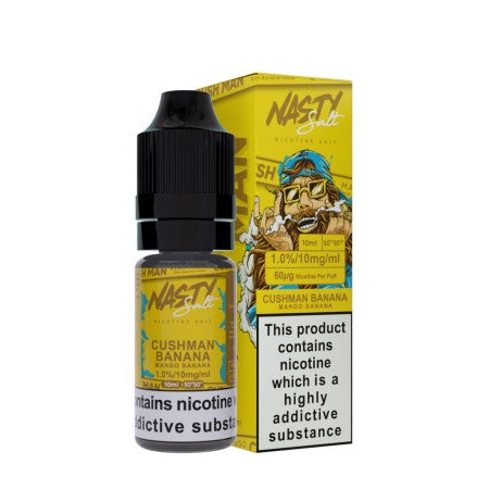 Nasty Juice Nic Salts Cushman Banana