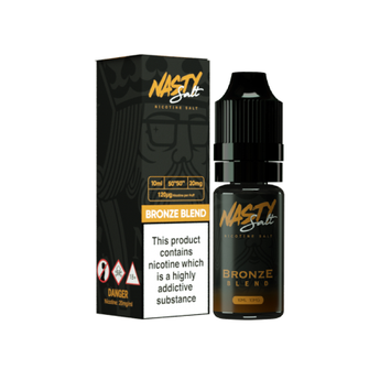 Nasty Juice Nic Salts Bronze Tobacco