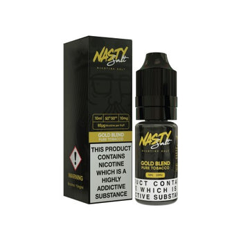 Nasty Juice Nic Salts Gold Blend Tobacco