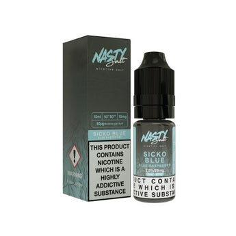Nasty Juice Nic Salts Sicko Blue