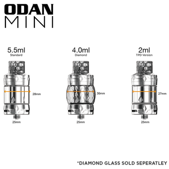 Aspire Odan Mini Tank - Free UK Delivery