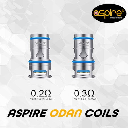 Aspire Odan Tank Replacement Coils 3 Pack