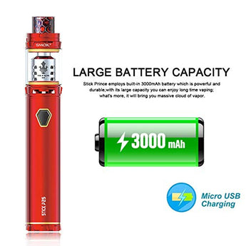 SMOK Stick P25 full Sub Ohm Kit 3000mAh