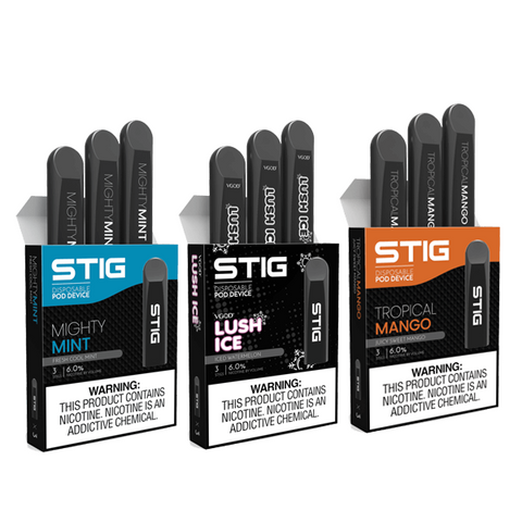 VGOD STIG Disposable Pods 3 pack