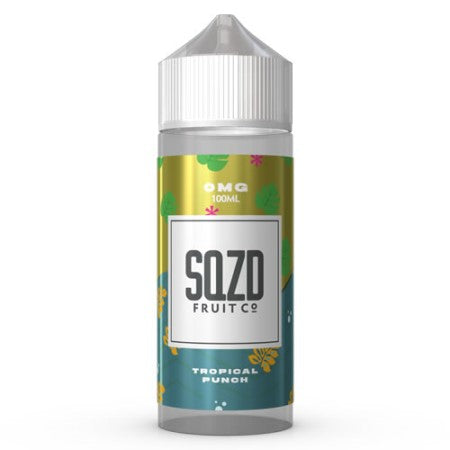 SQZD Fruit Co 50ml Shortfill Tropical Punch