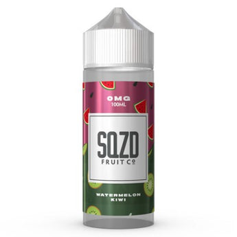 SQZD Fruit Co 50ml Shortfill Watermelon Kiwi