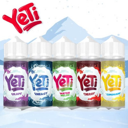Yeti Eliquid Shortfill Watermelon