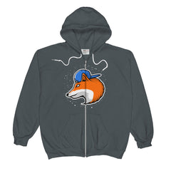 For Fox Sake Zip Hoodie