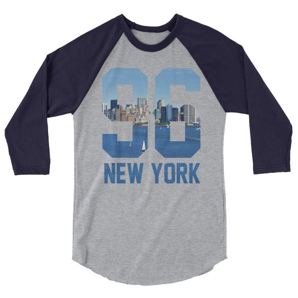 96 NYC 3/4 Sleeve