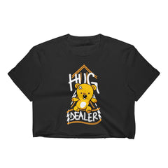 Hug Dealer Cropped T-Shirt