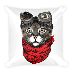 Furr Out Square Pillow