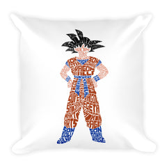Kakarot Square Pillow