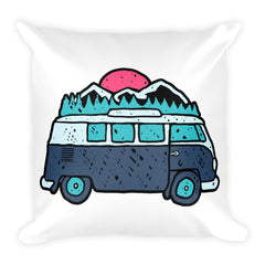 Vee Dub Square Pillow