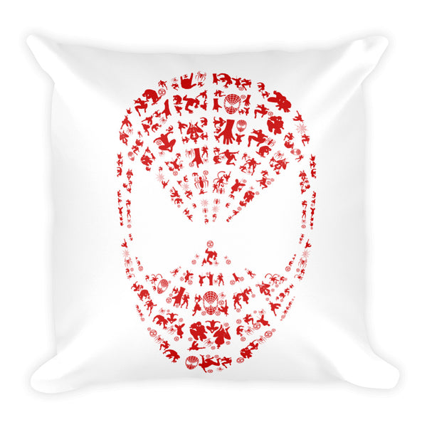 Arial Web Square Pillow