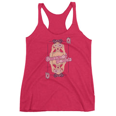Queen of Donuts Racerback Tank