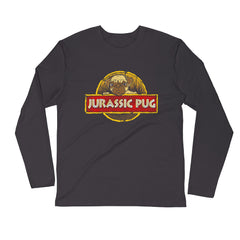 Jurassic Pug Long Sleeve