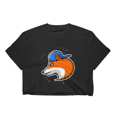 For Fox Sake Cropped T-Shirt