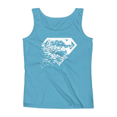 Superbat White Tank-Top