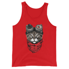 Furr Out Tank-top