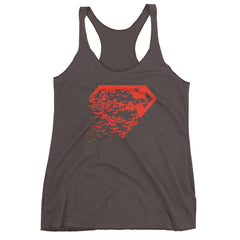 Superbat Red Racerback Tank