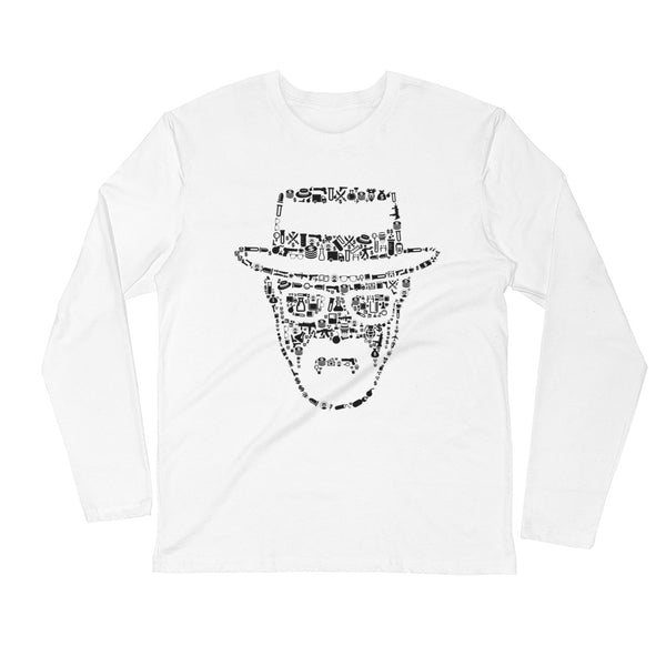 Arial Heisenberg White Long Sleeve