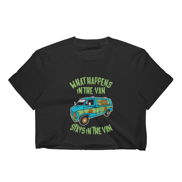 It Stays in The Van Cropped T-Shirt