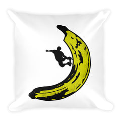 The Banana 720 Square Pillow