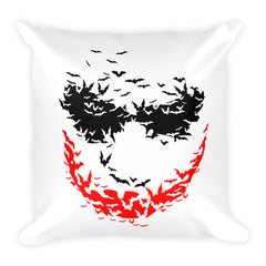 Psycho Bats Square Pillow