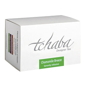 Tchaba Herbal Tea Chamomile Breeze Box of Sachets