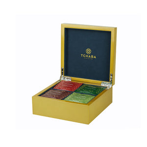 Luxury Tea Box Gold