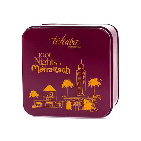 Tea Caddy - 1001 Nights in Marrakech