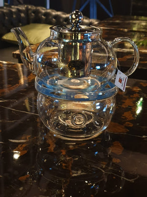 Tea pot with Tea Warmer