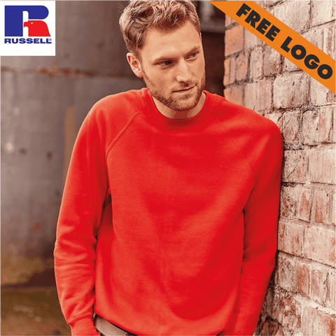 8 x Russell Sweatshirts For £99 - Includes Free Logo!