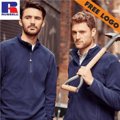 4 x Russell Fleeces For £99 - Includes Free Logo!