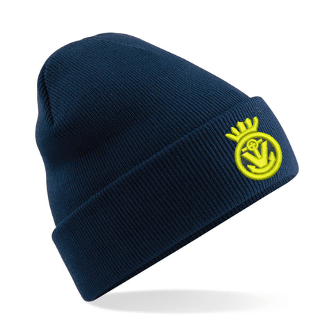 MVS Embroidered  Beanie Hat