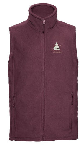 S.O.A Embroidered Mens Fleece Gilet