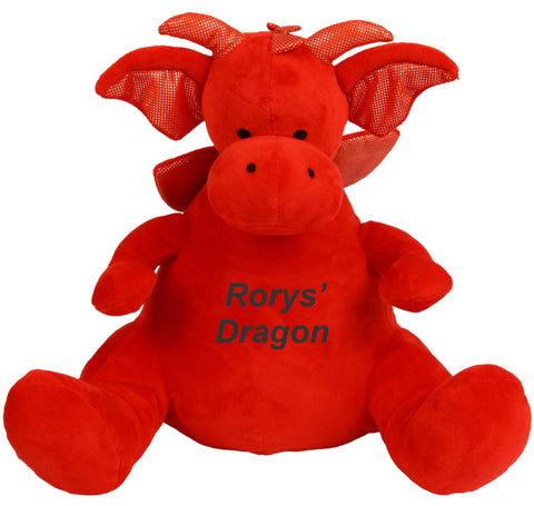 Personalised Zippy Dylan Dragon