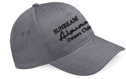 Sunbeam Alpine Owners Club Embroidered Baseball Cap