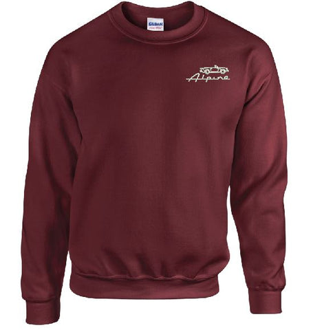 Sunbeam Alpine Owners Club Embroidered Unisex Sweatshirt