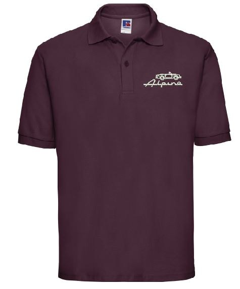 24928b544af7 Sunbeam Alpine Owners Club Embroidered Men s Polo Shirts – Axent ...