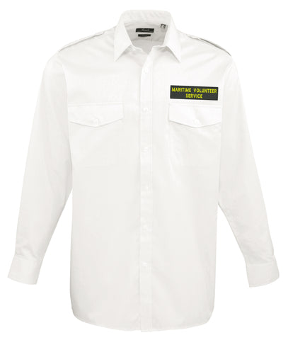 MVS Manchester <br>Long Sleeve Pilot Shirt