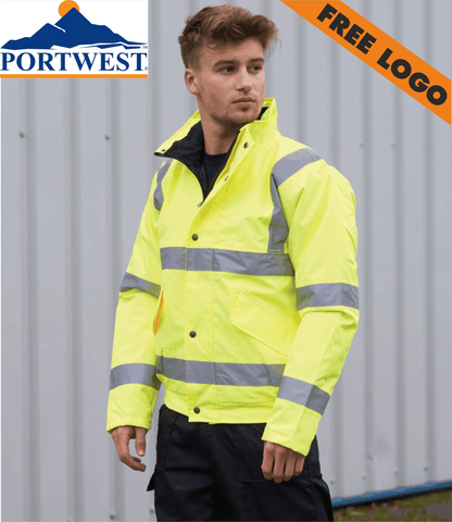 4 x Portwest Bomber Jackets For £99 - Includes Free Logo!