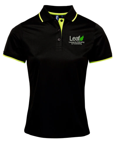 Leaf Charity Embroidered Ladies' Polo Shirt