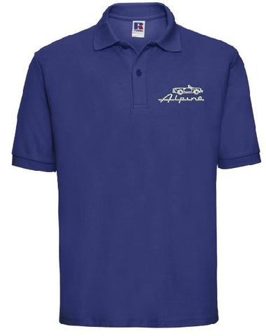 Sunbeam Alpine Owners Club Embroidered Men's Polo Shirts
