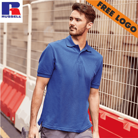 8 x Russell Polo Shirts For £99 - Includes Free Logo!